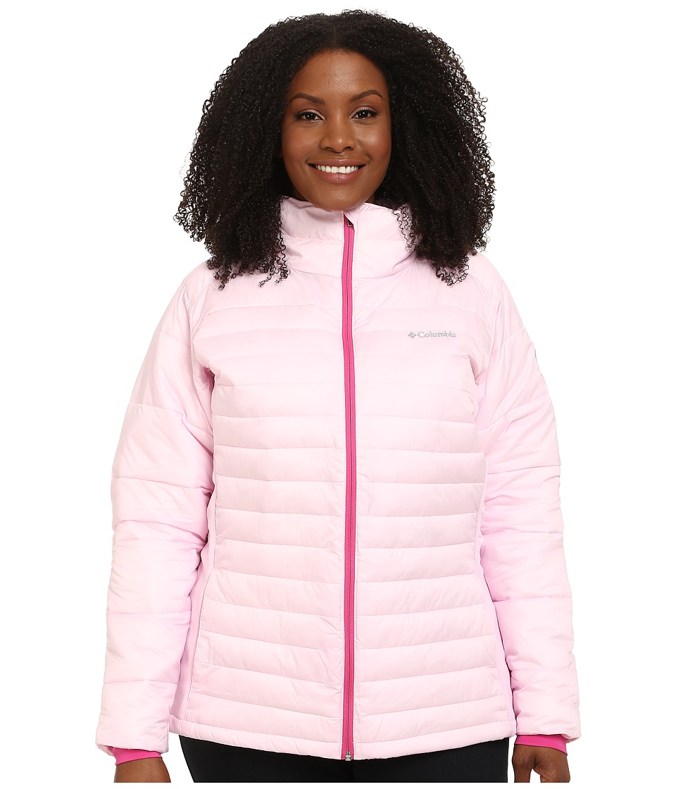 Columbia - Plus Size Tested Tough in Pink Hybrid Jacket (Isla) Women