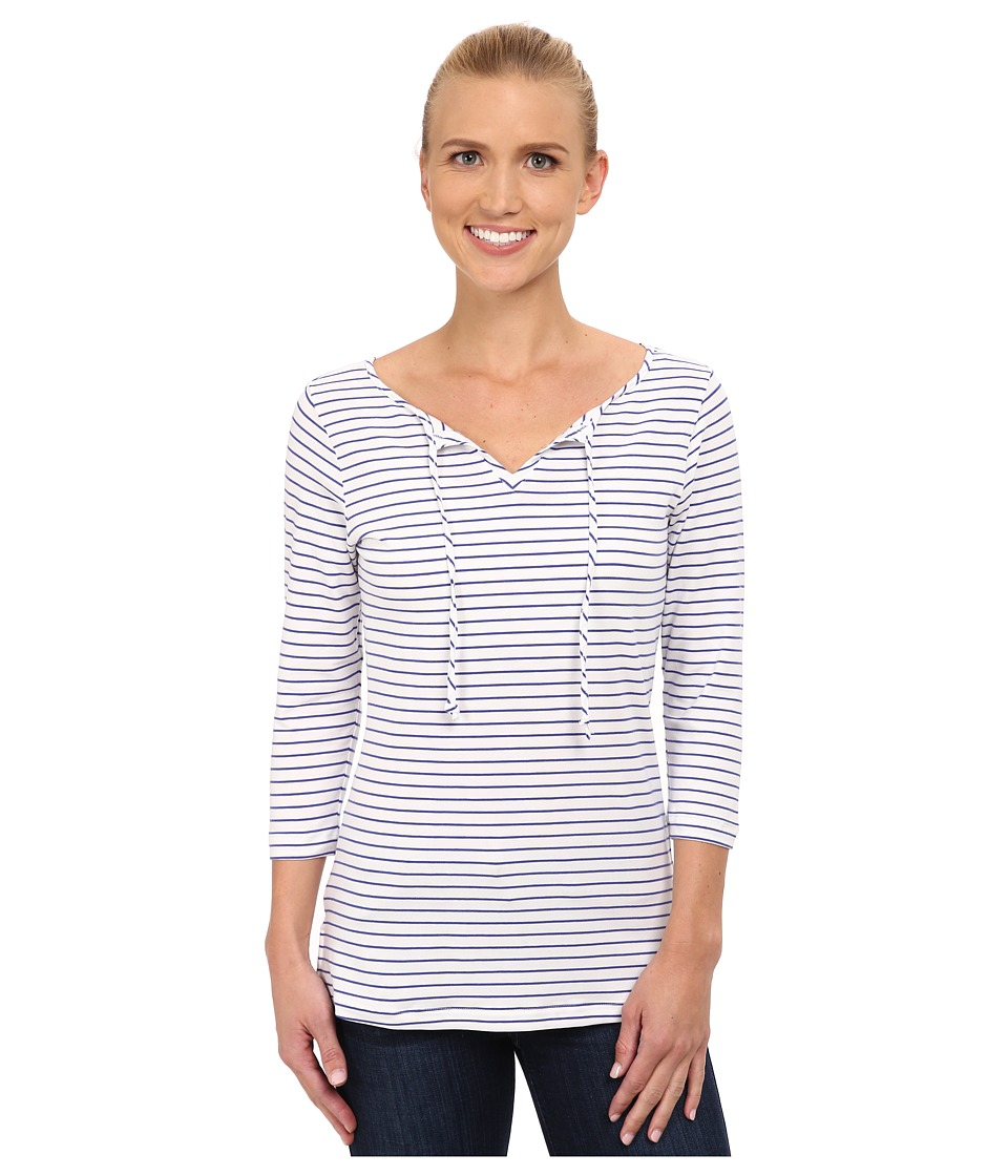 Columbia - Reel Beauty II 3/4 Sleeve Shirt (Light Grape Stripe) Women