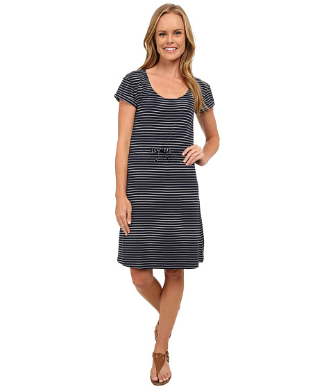 Columbia - Reel Beauty II S/S Dress (Collegiate Navy Small Stripe) Women