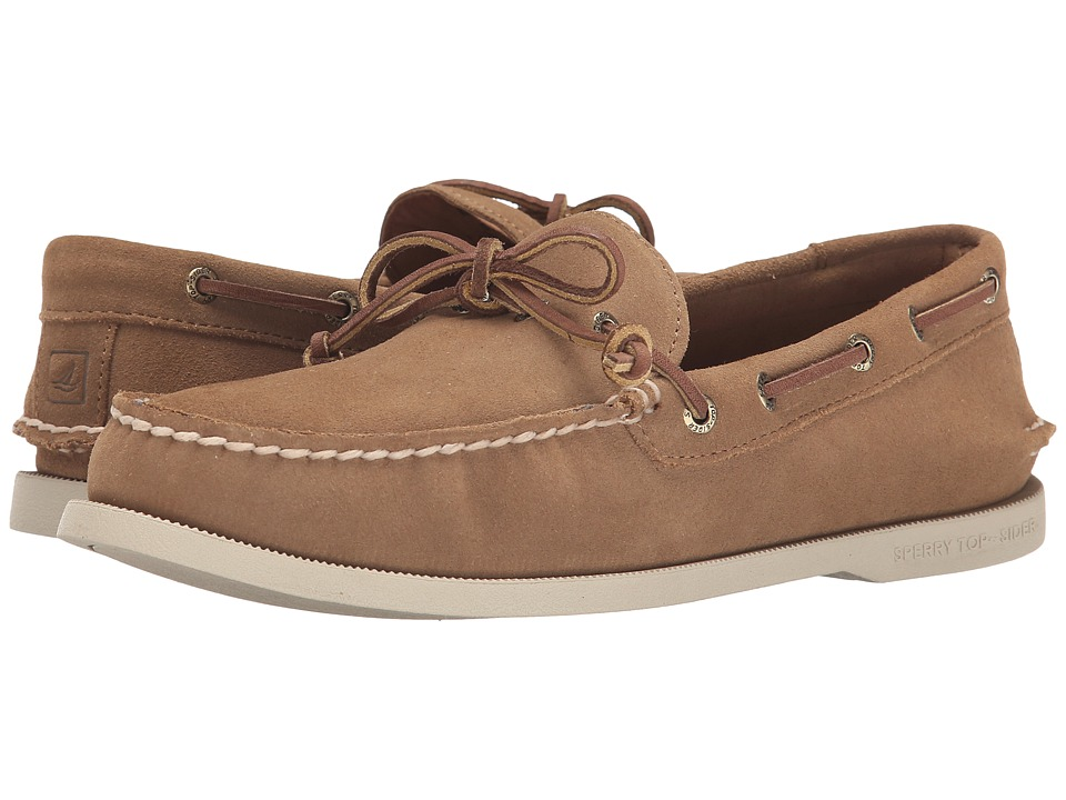 Sperry Top-Sider - A/O 1-Eye Leather (Tan Suede) Men