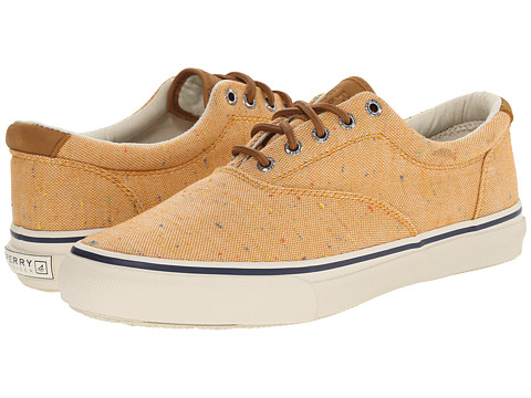 Sperry Top-Sider - Striper CVO Fleck Canvas (Gold) Men's Lace up casual Shoes