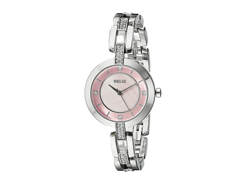 Relic - Marla (Silvertone/Pink Mop) Watches