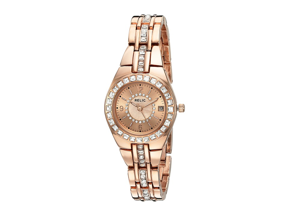 Relic - Queens Court (Rose Gold/Rose) Watches