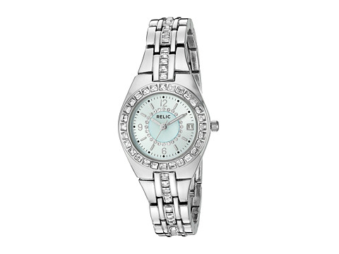Relic - Queens Court (Silvertone/Light Blue) Watches