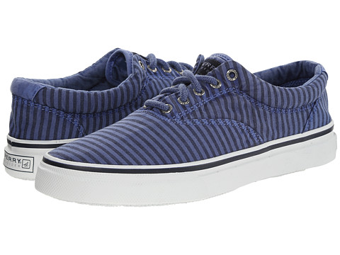 Sperry Top-Sider - Striper CVO Wash Stripe (Blue) Men
