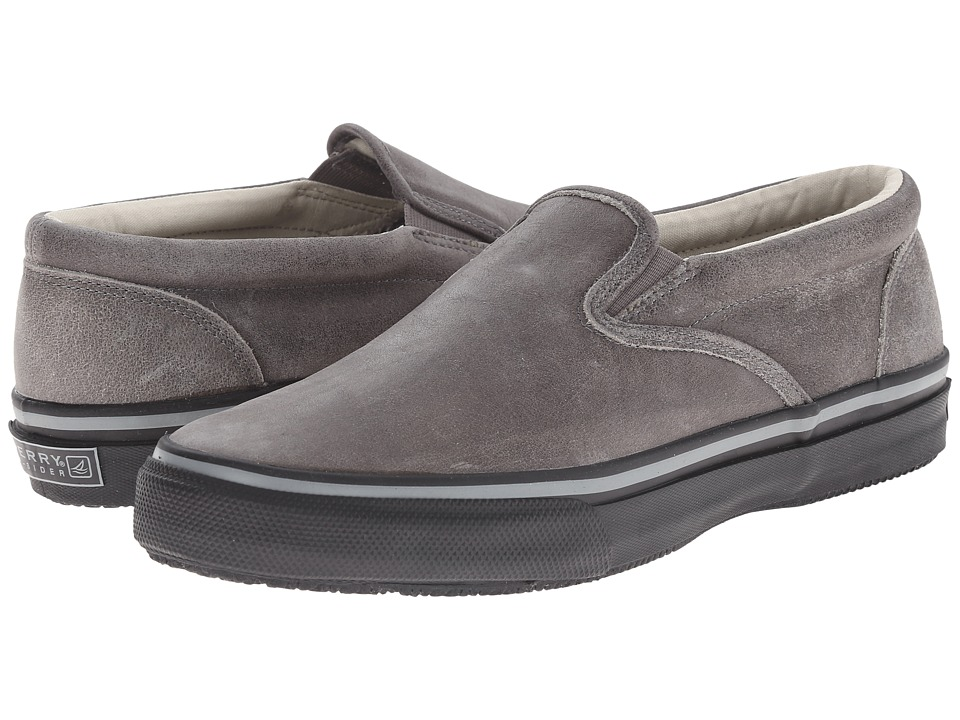 Sperry Top-Sider Striper Slip-On Leather (Grey) Men