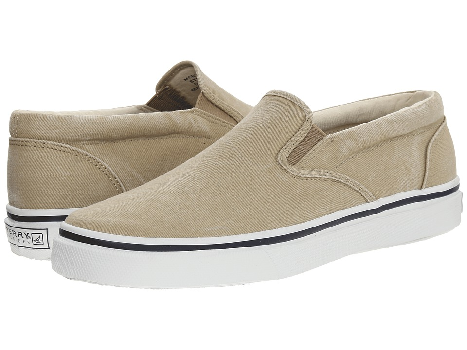 Sperry Top-Sider - Striper Slip On (Tan) Men's Slip on Shoes