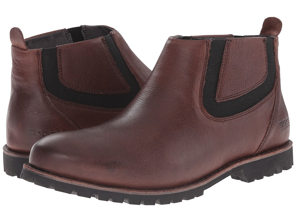 Bogs - Johnny Chelsea Boot (Coffee) Men's Boots