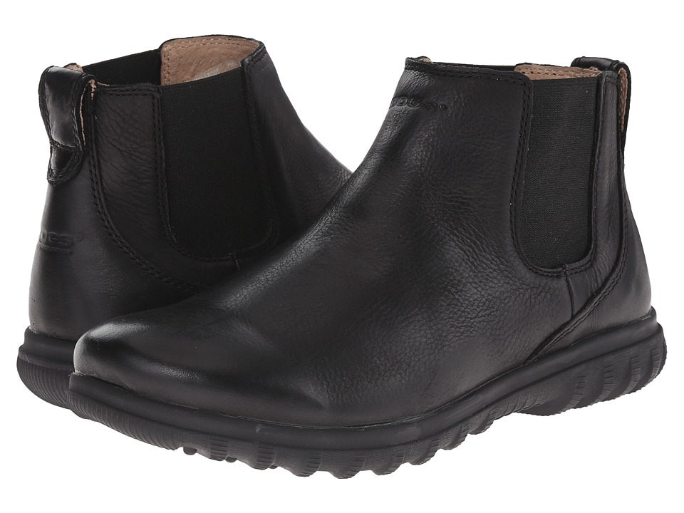 Bogs - Eugene Leather Boot (Black) Men's Boots
