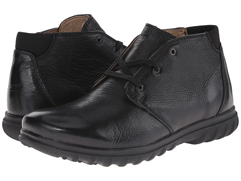 Bogs - Eugene Leather Chukka (Black) Men's Boots