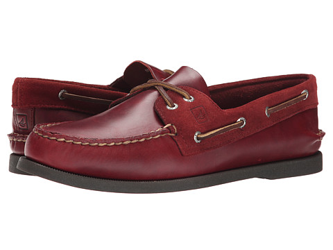 Sperry Top-Sider - A/O 2-Eye Cyclone (Burgundy) Men's Lace up casual Shoes