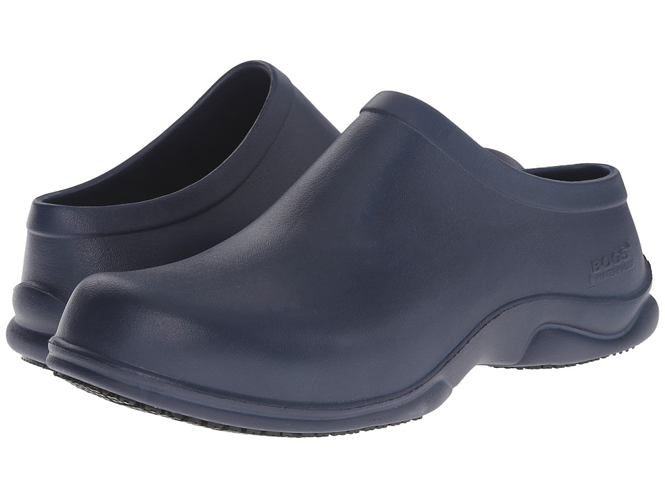 Bogs - Stewart (Dark Blue) Men's Slip on Shoes