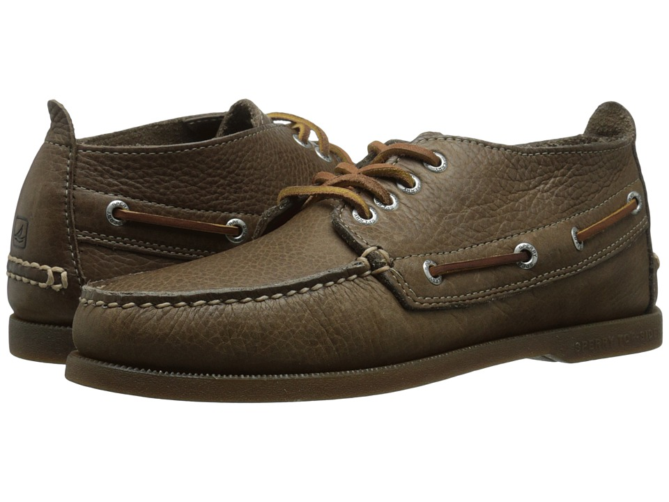 Sperry Top-Sider - A/O Chukka Tumbled (Brown) Men