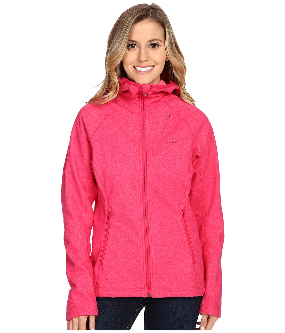 adidas Outdoor - Luminaire Jacket (Vivid Berry) Women's Coat