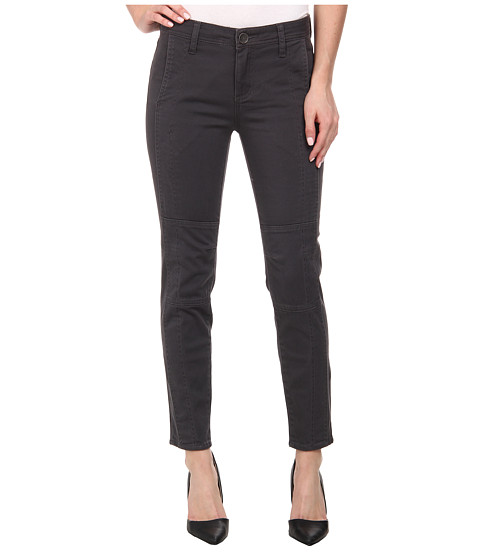 KUT from the Kloth - Angelina Moto Ankle Skinny (Grey) Women's Jeans