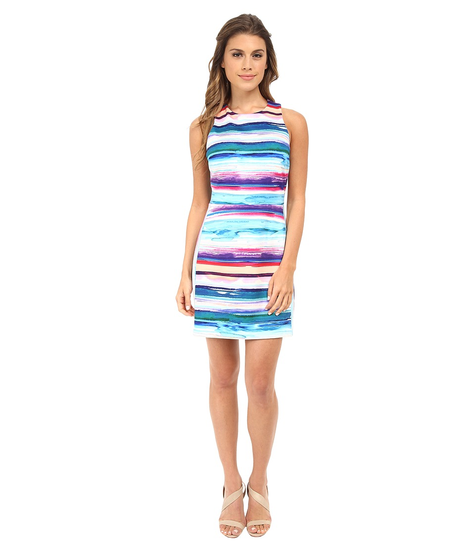 Amanda Uprichard - Racer Cuba Dress (Sunset Ponti) Women's Dress