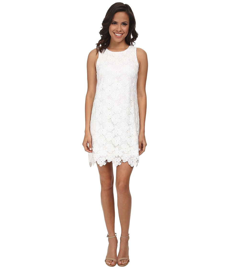 Amanda Uprichard - Lace Shift Dress (Flower Lace) Women