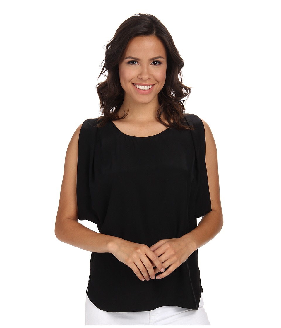 Amanda Uprichard - Florence Top (Black) Women's Blouse
