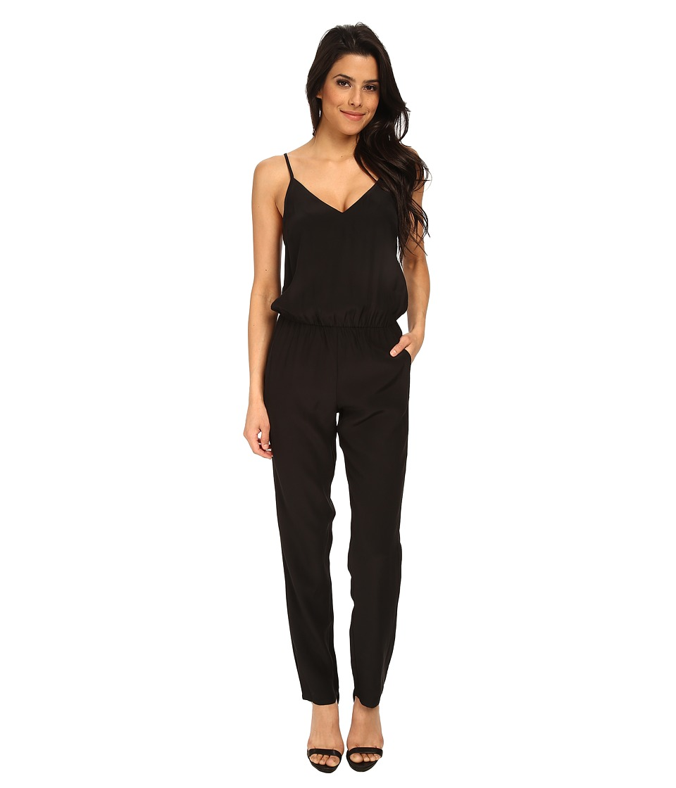 Amanda Uprichard - Cricket Jumpsuit (Black) Women's Jumpsuit & Rompers One Piece