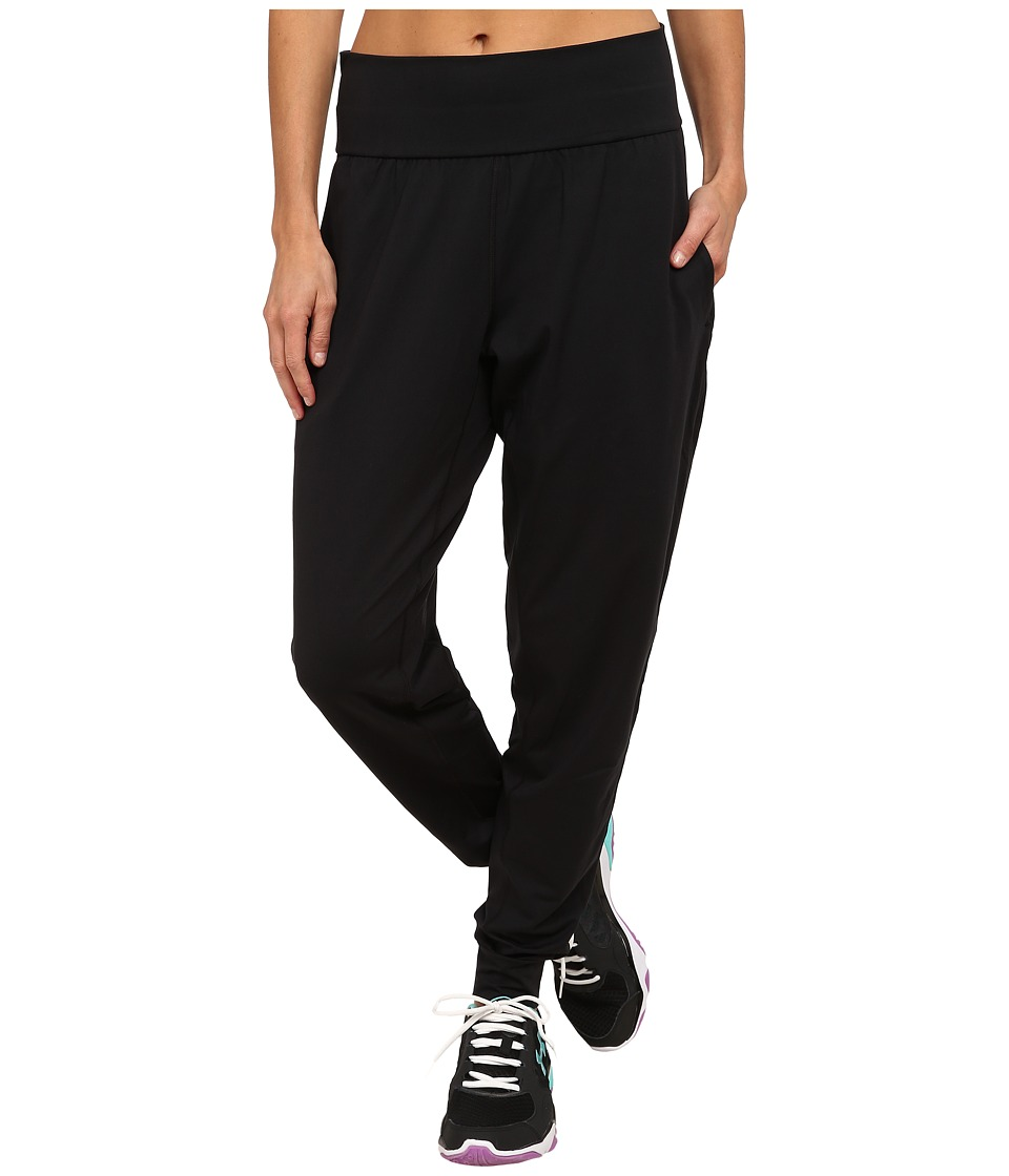 Under Armour - UA Downtown Knit Jogger Pants (Black/Metallic Pewter) Women's Casual Pants