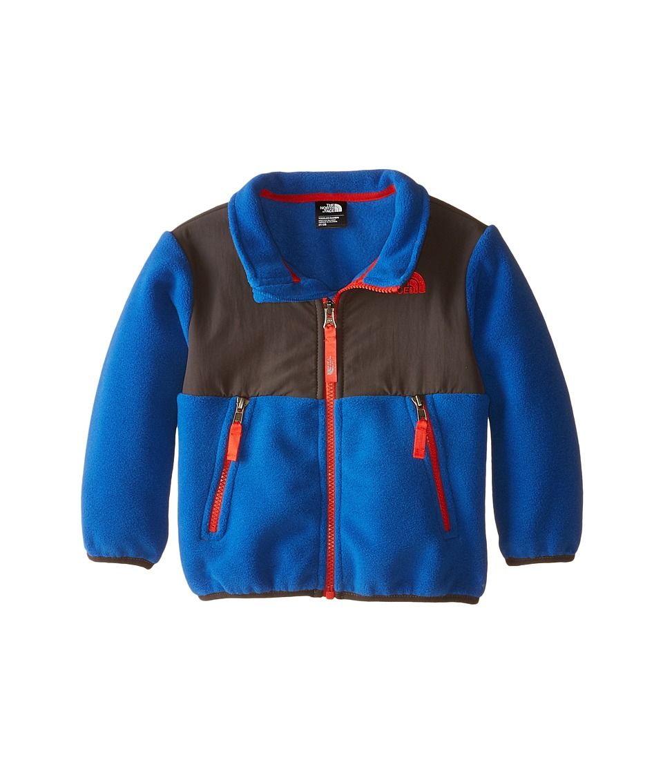 The North Face Kids - Denali Jacket (Toddler) (Recycled Monster Blue/Graphite Grey) Boy's Coat