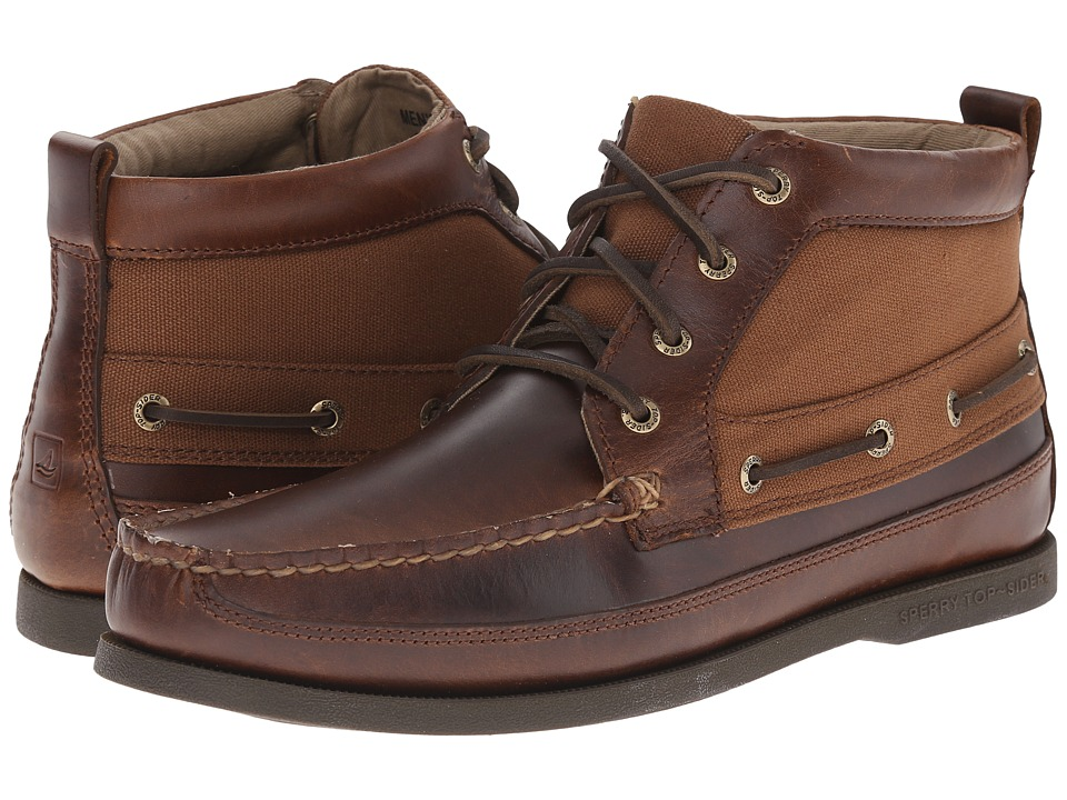 Sperry Top-Sider A/O Boat Chukka Duck Cloth (Tan) Men