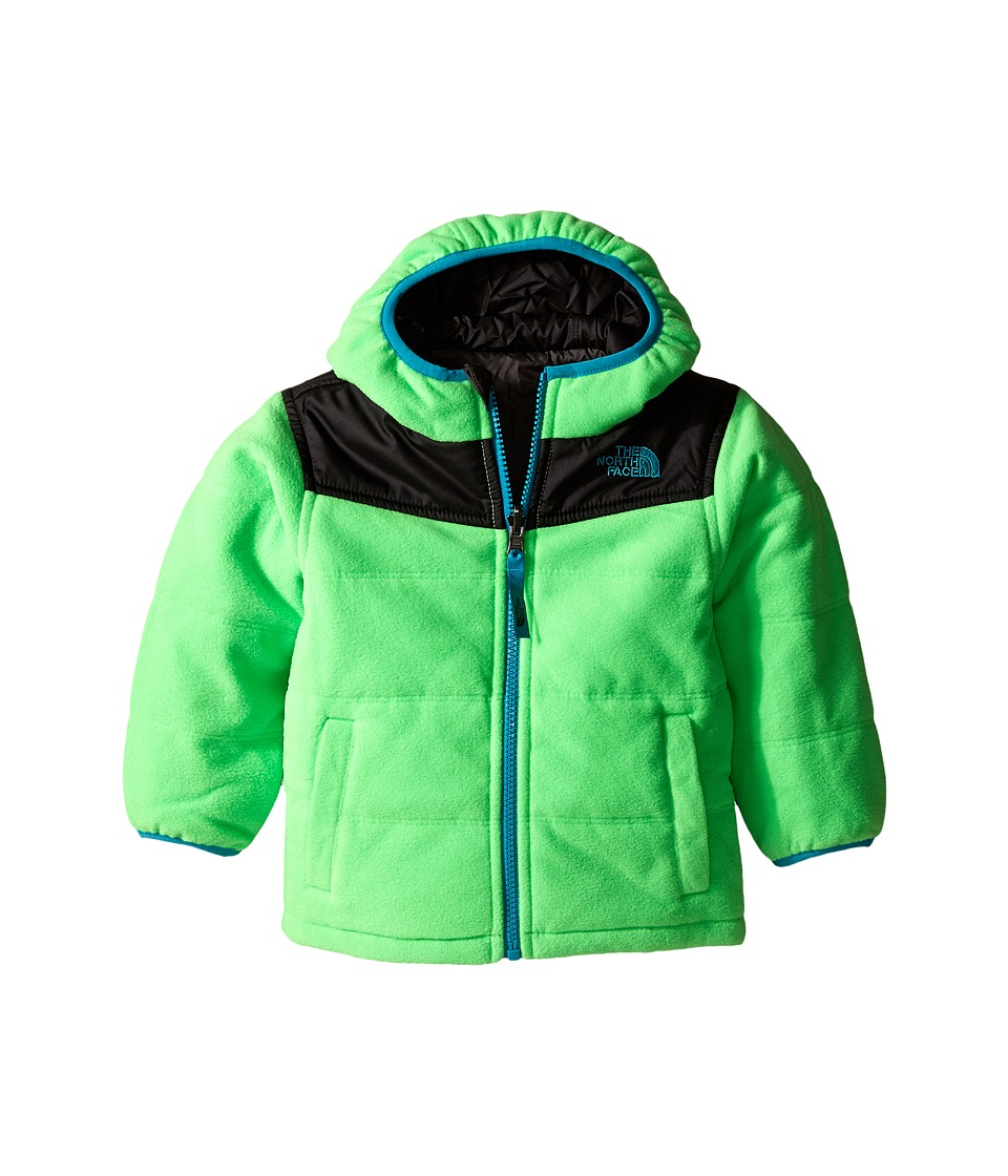 The North Face Kids - Reversible True Or False Jacket (Toddler) (Krypton Green) Boy