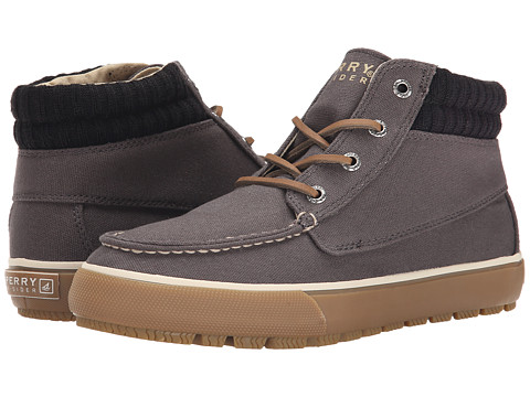 Sperry Top-Sider - Bahama Lug Chukka Duck Cloth (Grey) Men's Lace up casual Shoes