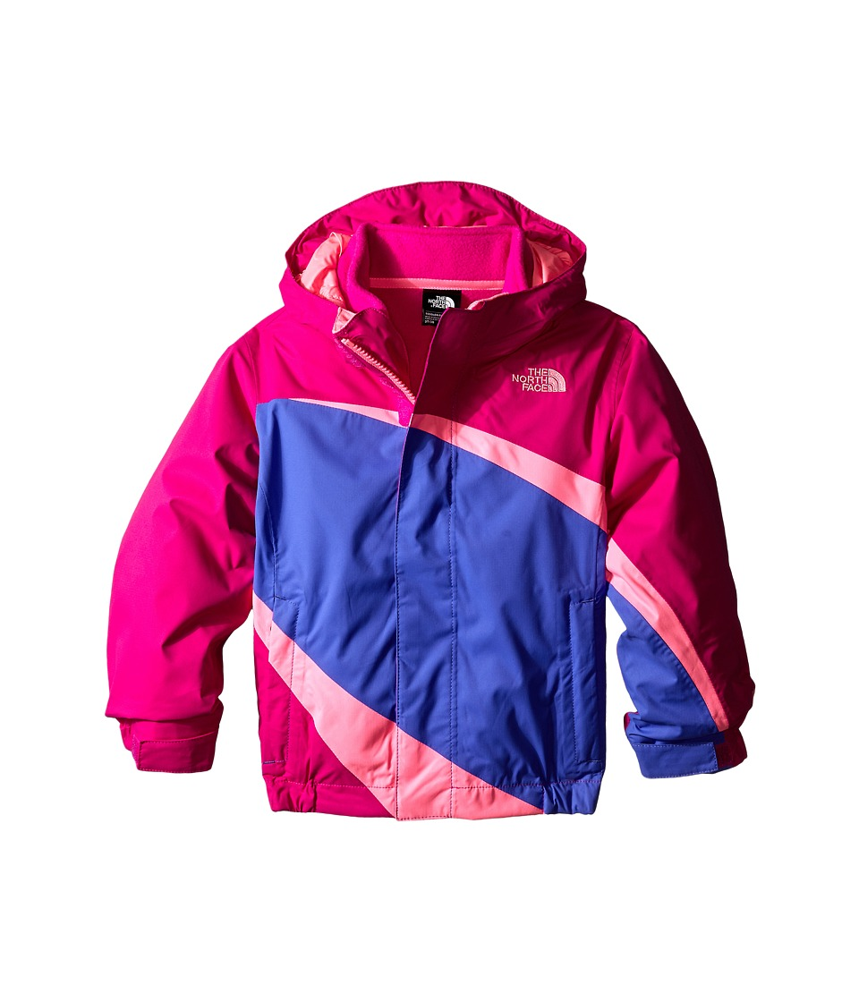 The North Face Kids - Mountain View Triclimate Jacket (Toddler) (Luminous Pink) Girl's Jacket