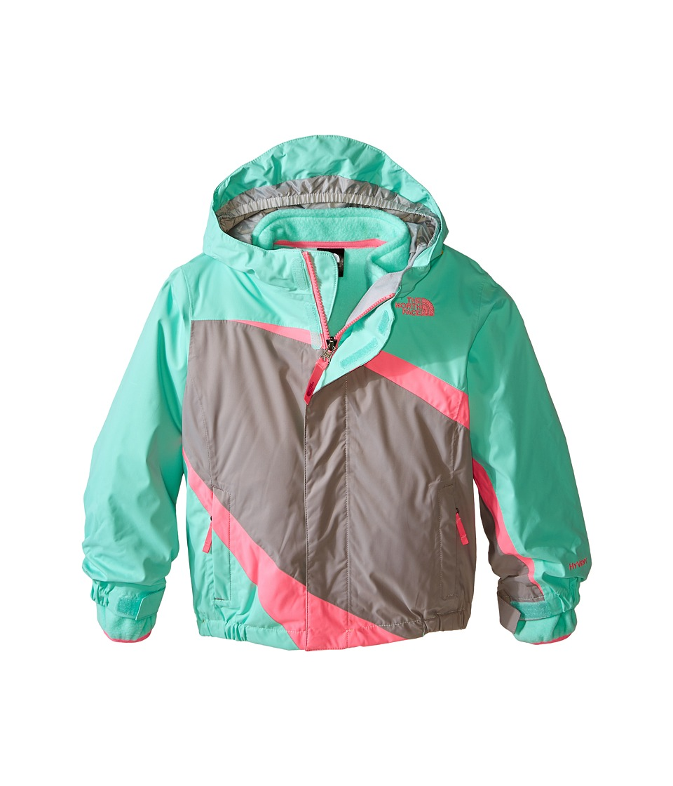 The North Face Kids - Mountain View Triclimate Jacket (Toddler) (Surf Green) Girl