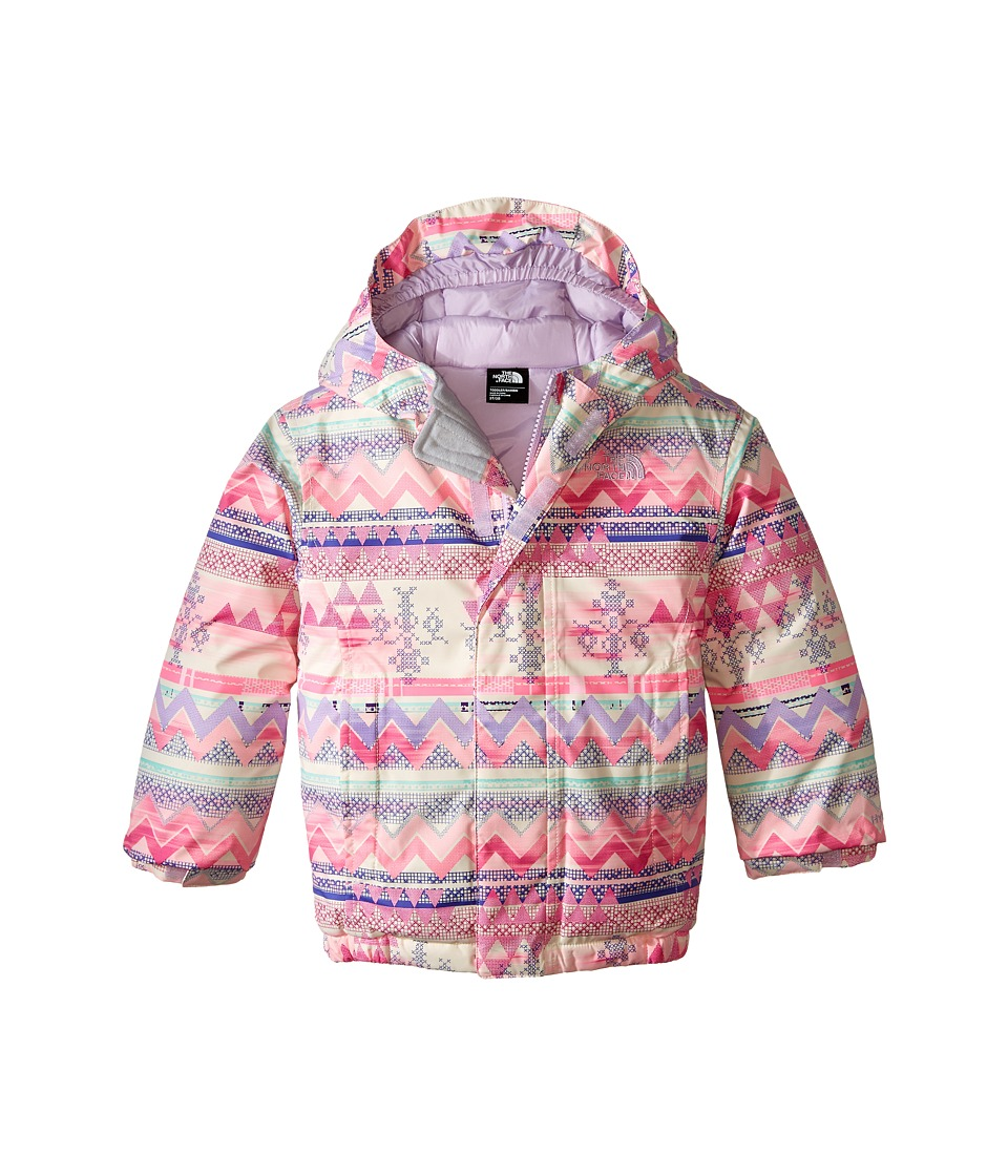 The North Face Kids - Delea Insulated Jacket (Toddler) (Tribal Stripe) Girl