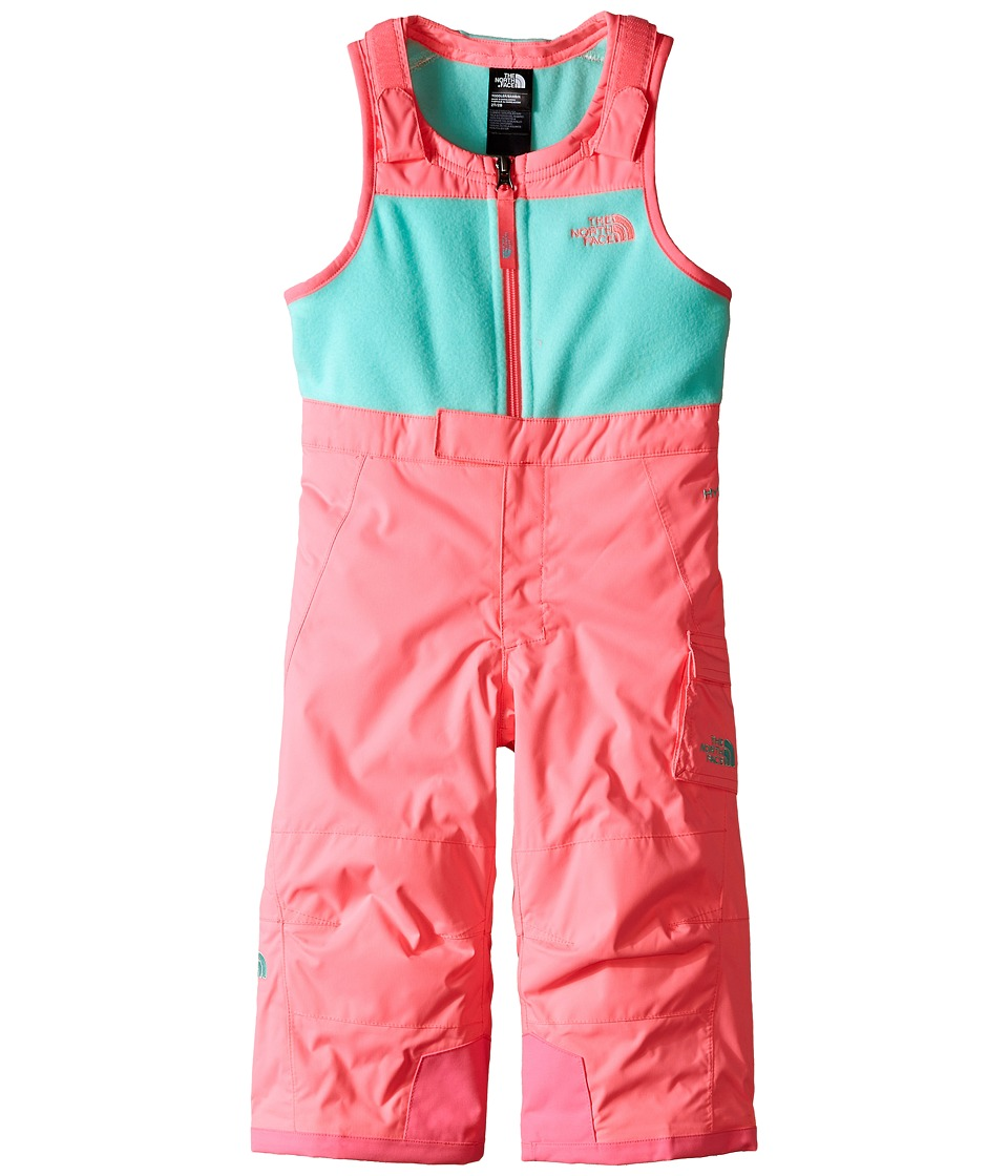The North Face Kids - Insulated Bib (Toddler) (Gem Pink) Girl's Snow Bibs One Piece