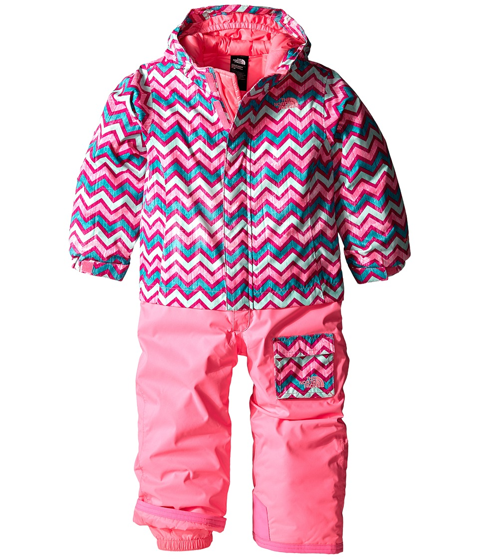 The North Face Kids - Insulated Jumpsuit (Toddler) (Gem Pink) Girl