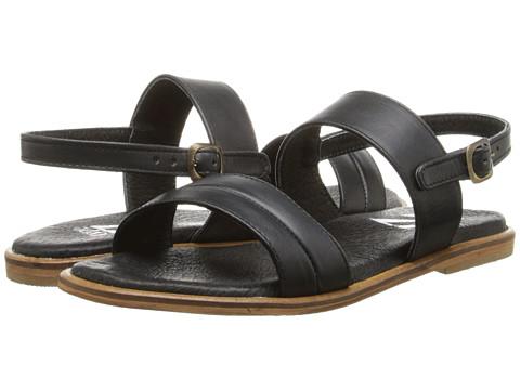 Type Z - Hayden (Black Leather) Women's Sandals