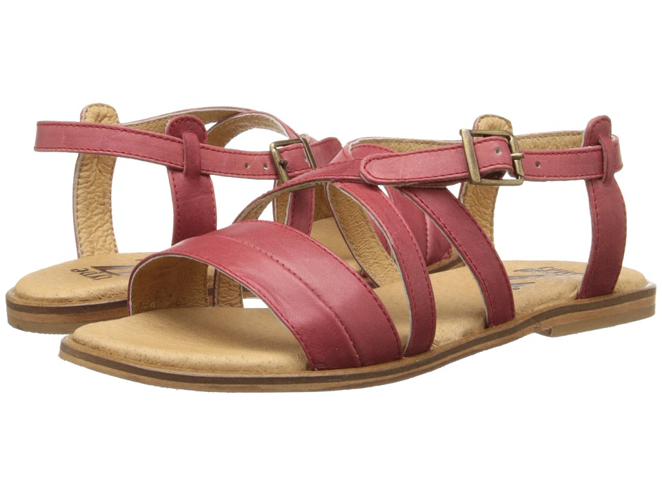 Type Z - Cameron (Red Leather) Women's Sandals