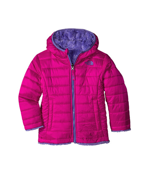 The North Face Kids - Reversible Mossbud Swirl Jacket (Toddler) (Luminous Pink) Girl's Coat