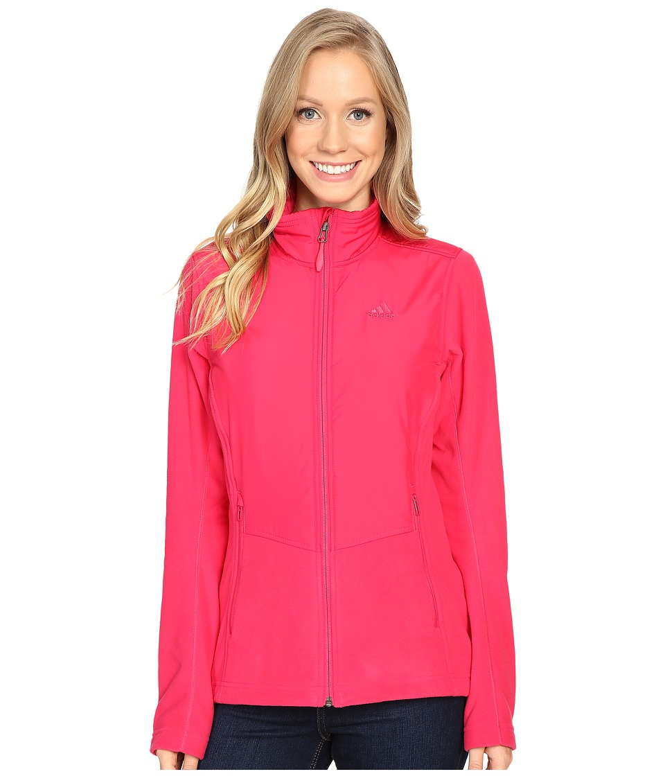 adidas Outdoor Windfleece Jacket (Vivid Berry) Women