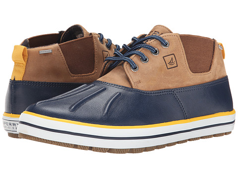 Sperry Top-Sider - Fowl Weather Chukka (Navy/Dark Tan) Men's Lace up casual Shoes