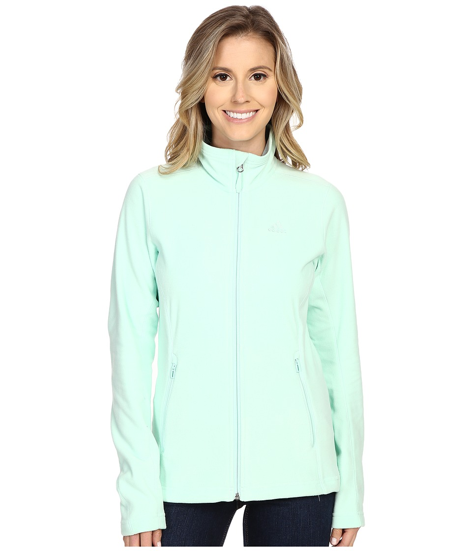 adidas Outdoor - Hiking Reachout Jacket (Frozen Green) Women's Jacket