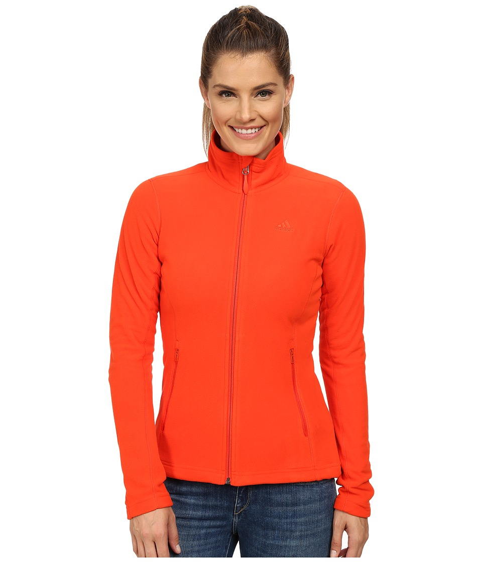 adidas Outdoor - Hiking Reachout Jacket (Bold Orange) Women's Jacket