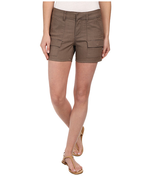 KUT from the Kloth - Pork Chop Front Pocket Released Hem (Earth) Women's Shorts