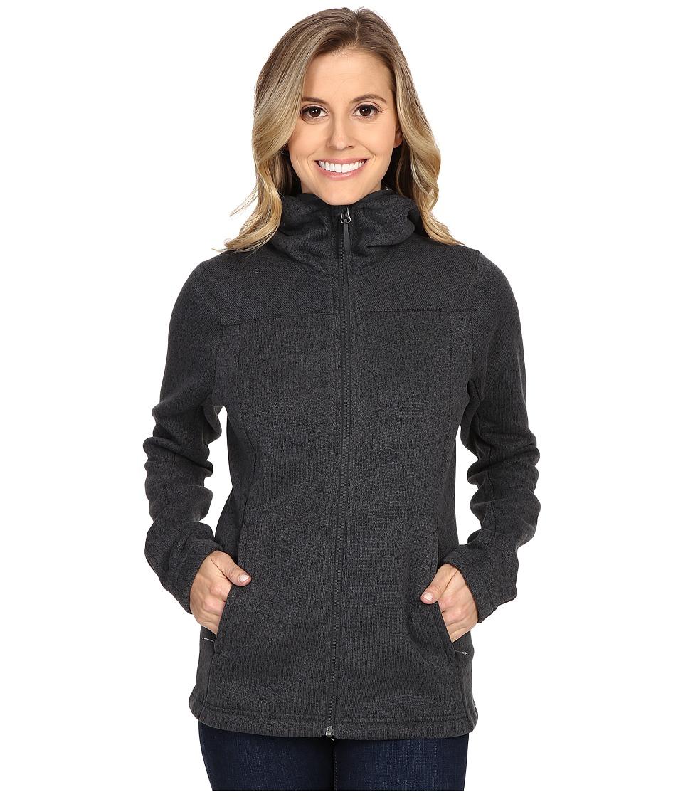 adidas Outdoor - Hochmoose Hoodie (Dark Grey) Women's Sweatshirt