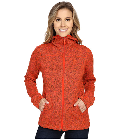 adidas Outdoor - Hochmoose Hoodie (Bold Orange) Women's Sweatshirt