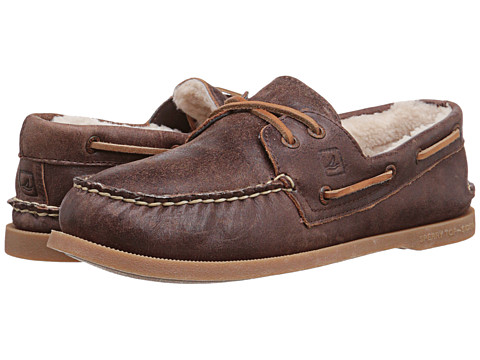 Sperry Top-Sider - A/O 2-Eye Winter (Brown 2) Men's Lace up casual Shoes