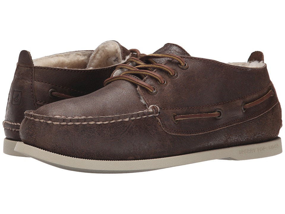 Sperry - A/O Chukka Winter (Brown) Men's Lace up casual Shoes