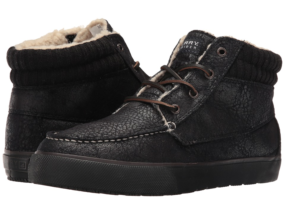 Sperry Top-Sider Bahama Lug Chukka Bomber (Black) Men