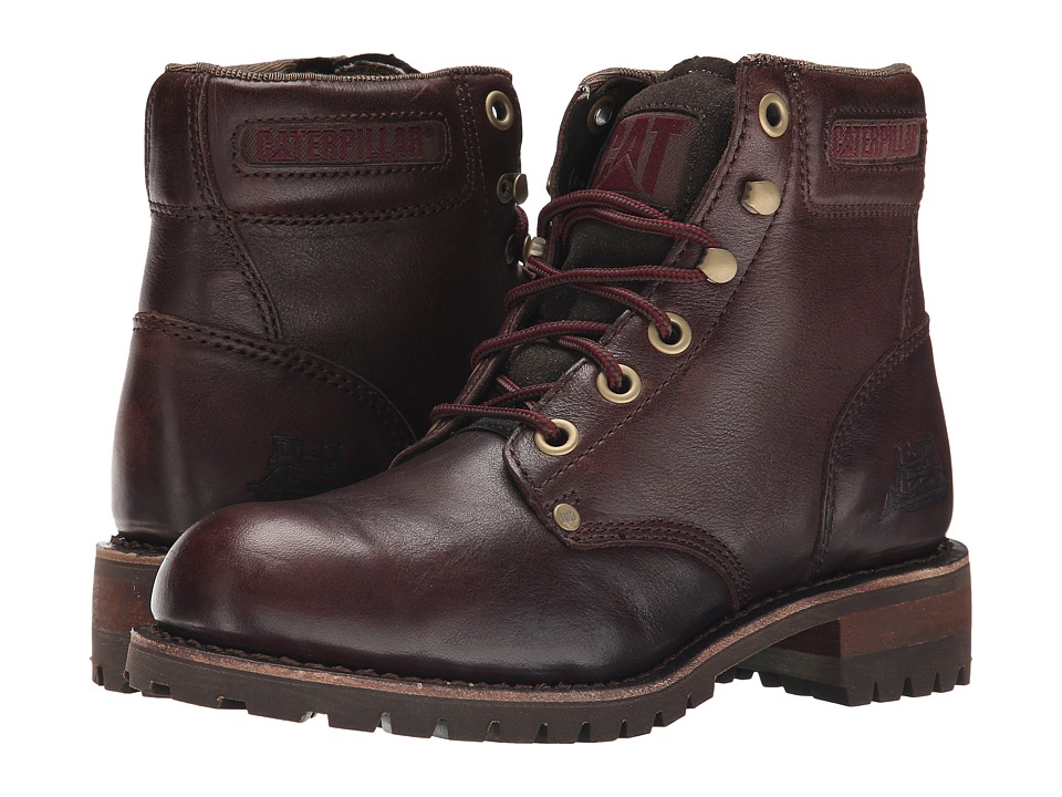 Caterpillar Casual - Sequoia (Bitter Chocolate) Women's Work Boots