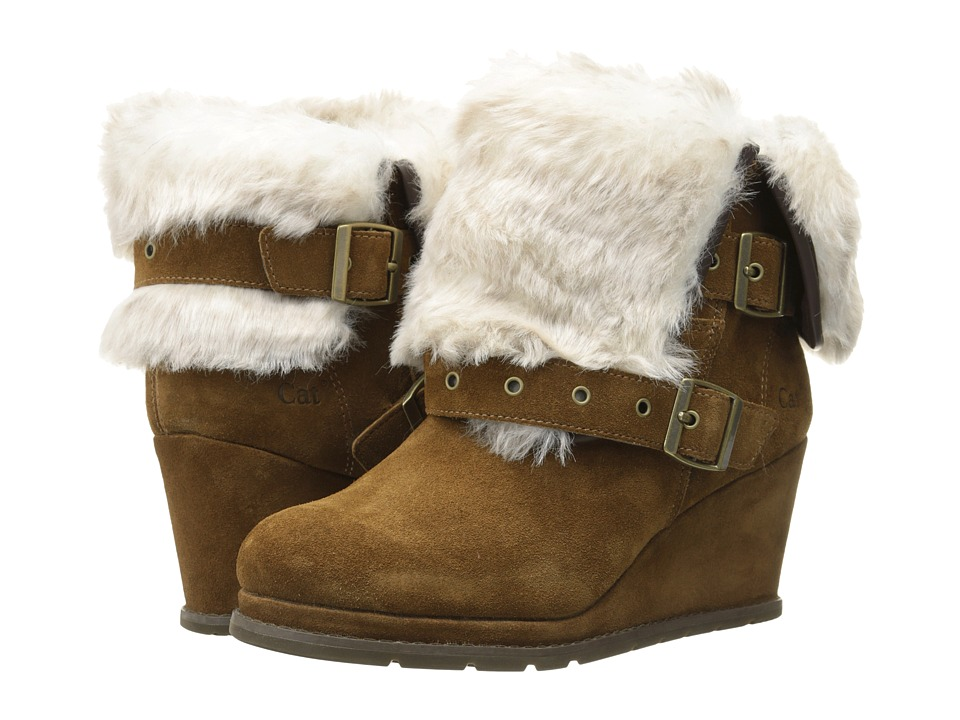 Caterpillar Casual - Boisterous Fur (Tobacco) Women's Work Boots