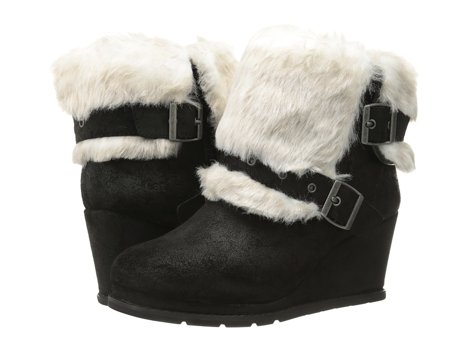 Caterpillar Casual - Boisterous Fur (Black) Women's Work Boots