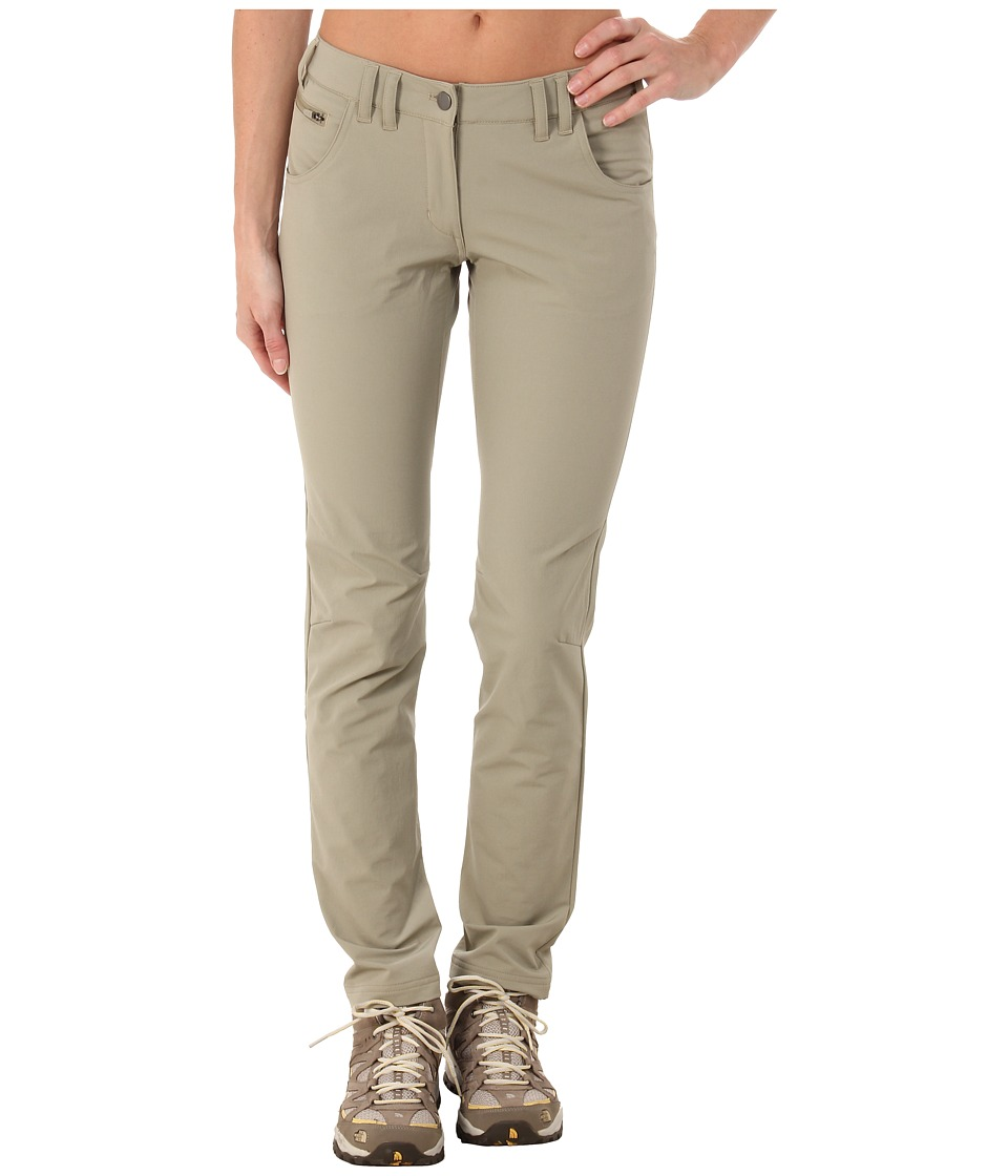 adidas Outdoor - Hiking Comfort Pants (Tech Beige) Women